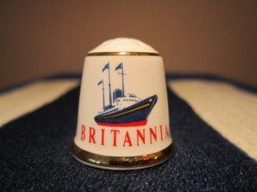 Sběratelský náprstek - Museum Collection, England - Královská jachta Britannia
