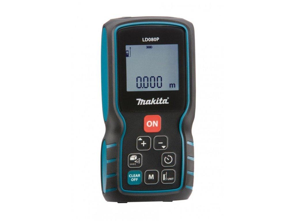 Laserový měřič vzdálenosti Makita LD080PI