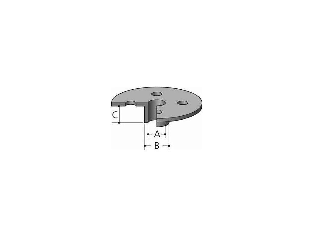 Makita vodící pouzdra pro RP0910, RP1110C