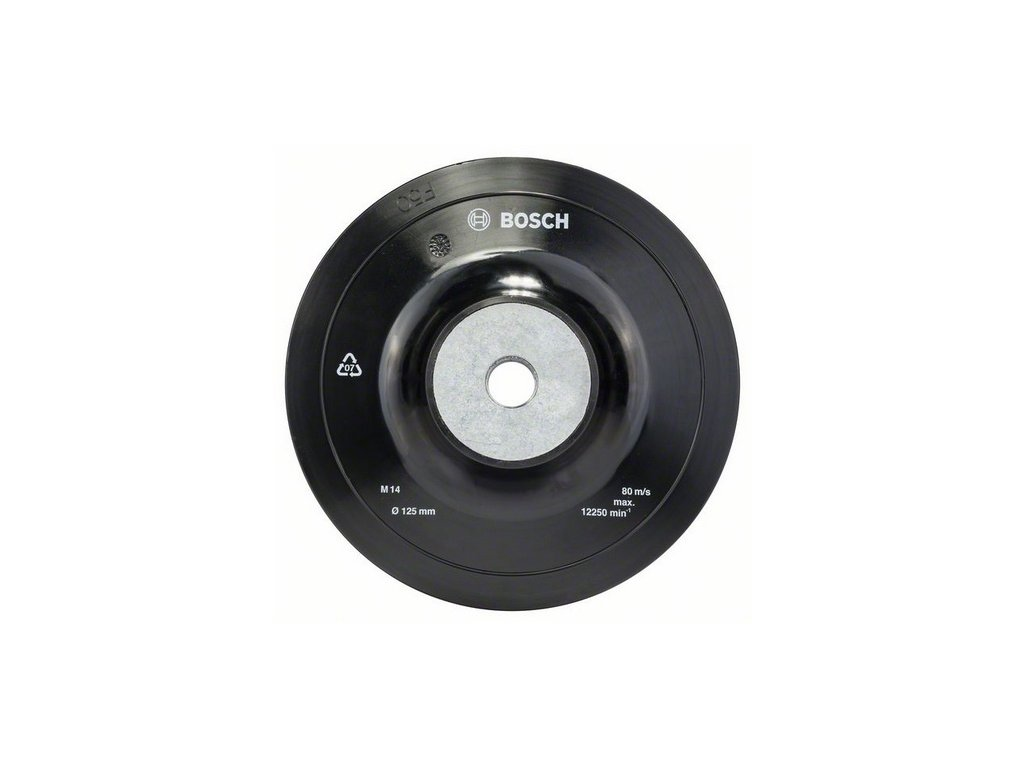 Bosch gumový opěrný talíř 125 mm