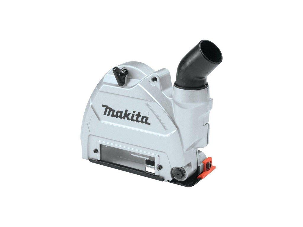 Makita 196845-3 odsávací adaptér pro úhlové brusky 115, 125 mm