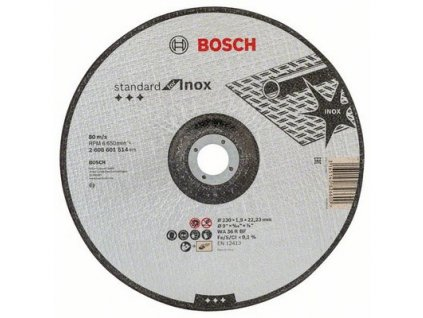 Řezný kotouč Bosch Standard for Inox