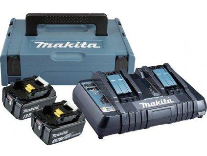 Sada akumulátorů Makita 2x 5,0 Ah 197629-2