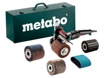 Satinační bruska Metabo SE 17-200 RT Set