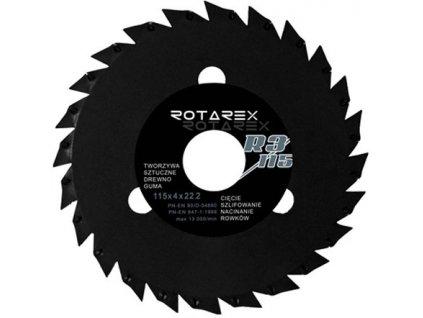 Rašplový pilový kotouč Rotarex R3
