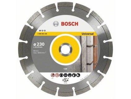 Bosch řezný diamantový kotouč Universal