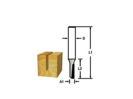 Makita D-47400 drážkovací fréza 8 mm