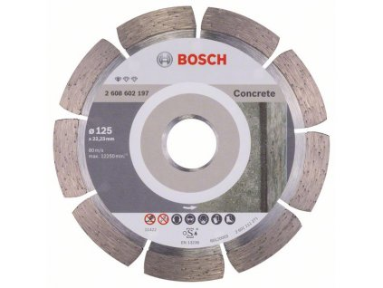 Bosch diamantový kotouč na beton