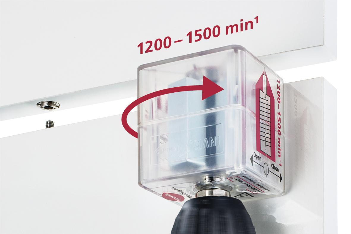 Lamello - magnetický  spojovací systém - INVIS MX 2