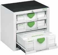 Festool -Systainer a Sortainer - úložné systémy