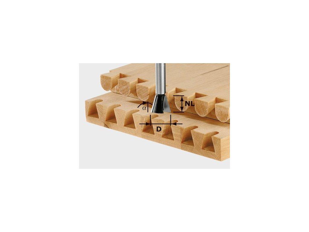3976 1 festool svlakova ozubova freza hs stopka 8 mm hs d20 17 15grad o r 490995
