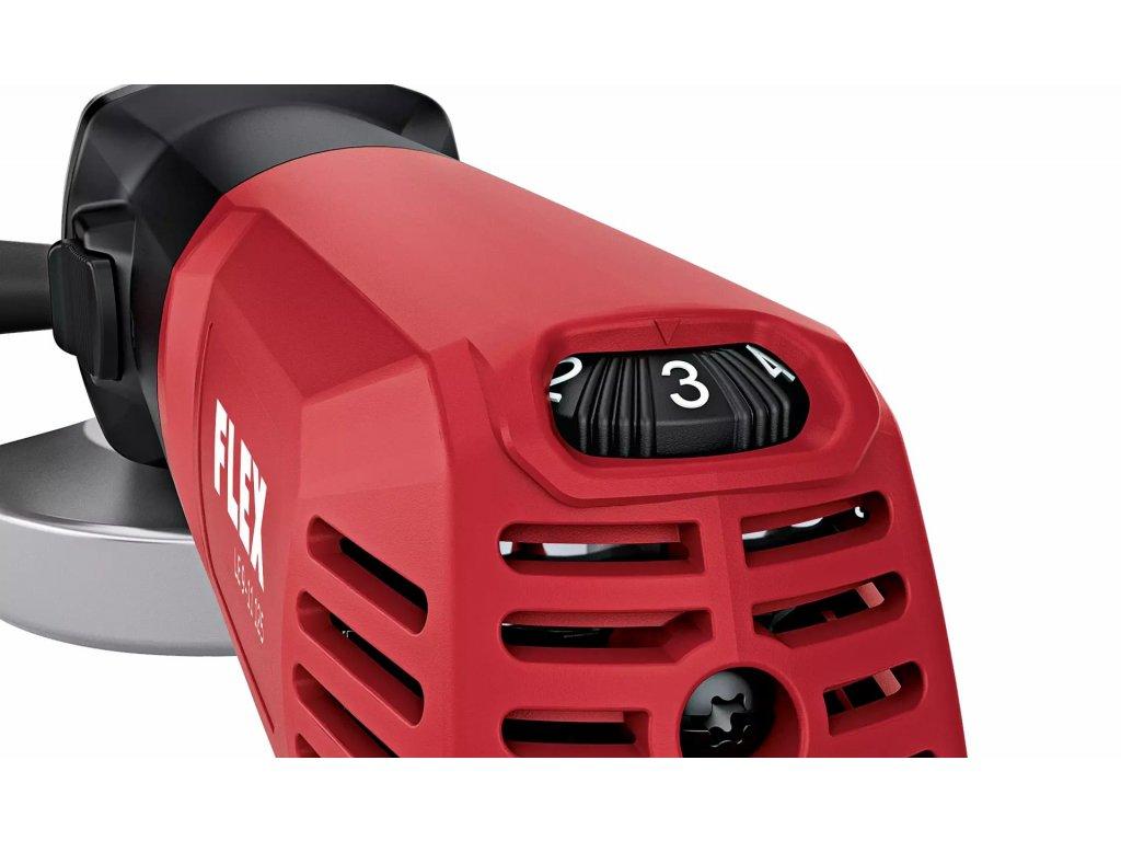 Flex - LE 9 - 11 125 úhlová bruska  v kufříku s regulací otáček  900 W