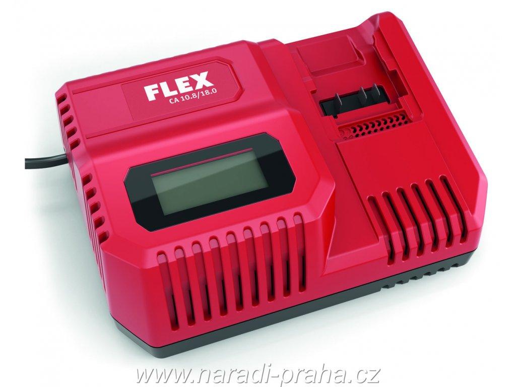 Flex - univerzální rychlonabíječka CA 10,8/18,0 V