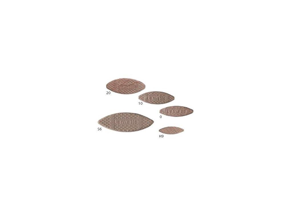 Lamello - Truhlářská lamelka velikost č.0(47x15x4mm), balení 1000ks(144000)