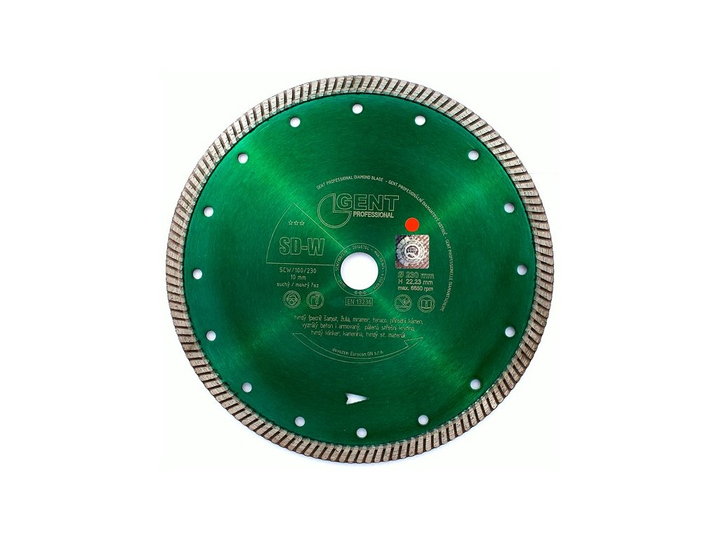 diamantovy kotouc SD W 230mm