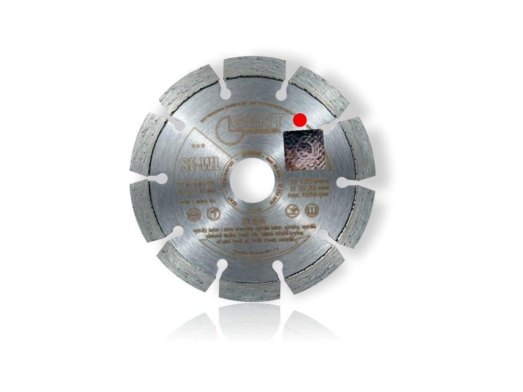 Diamantový řezný kotouč SE-WL segmentovaný