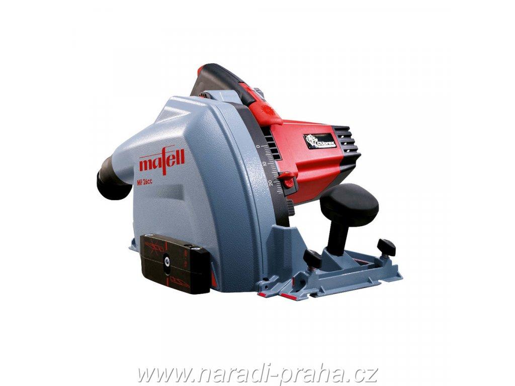 Mafell - multifunkční frézka MF 26 cc - kapovací lišta