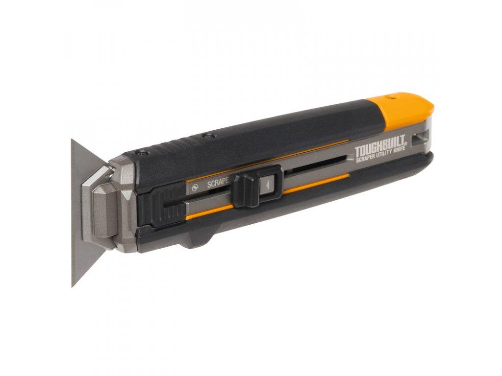 Toughbuilt  - kombinace vysouvacího  nože  a škrabky