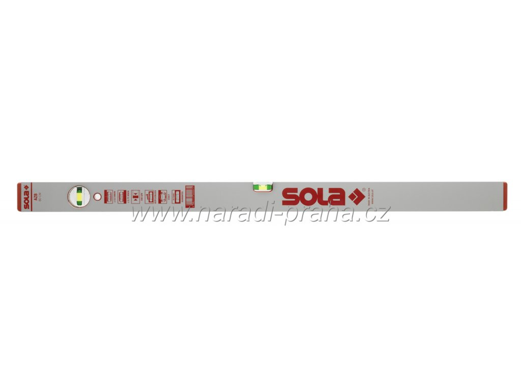 Sola - vodováhy AZB (60 cm, 80cm, 120cm, 150cm) (délka 150cm)