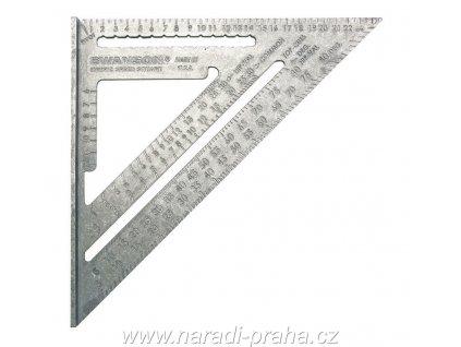 """Swanson - """" Speed Square """"  metrický tesařský úhelník"""
