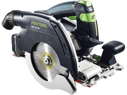 Festool - Akumulátorová okružní pila HKC 55 EB-Basic-Promo 2021