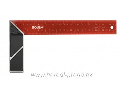 Sola - Truhlářský přesný úhelník SRC 300,350,400,500 mm (délka 350mm)