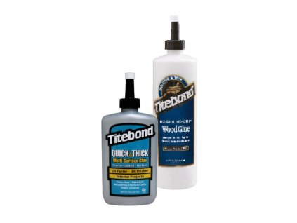 Titebond Quick & Thick (No-run, No-drip) Lepidlo na dřevo - 237ml