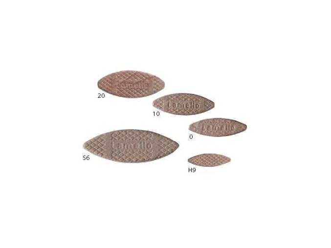 Lamello - Truhlářská lamelka velikost č.20(56x23x4mm), balení 1000ks(144020)