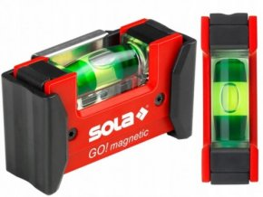 SOLA GO MAGNETIC CLIP poziomica kompaktowa