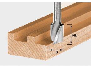 Festool - Spirálová drážkovací fréza HW HW Spi D10/30(490980)