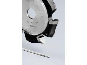 Drážkovací fréza ve tvaru V HW 118x14-90°/ALU