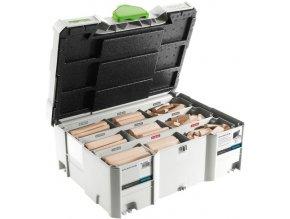 Festool - Sada bukových čepů DOMINO XL DS/XL D8/D10 306x BU(498204)