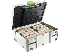 Festool - Sada bukových čepů DOMINO XL DS/XL D12/D14 128x BU(498205)