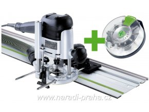 Festool - Horní frézka OF 1010 EBQ-Set + Box-OF-S 8/10x HW(574384)