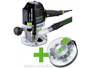 Festool - Horní frézka OF 1400 EBQ-Plus + Box-OF-S 8/10x HW(574398)