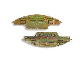 Lamello - Metal  rozebiratelný zasouvací prvek,cena za pár (145115)