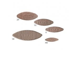 Lamello - Truhlářská lamelka velikost č.10(53x19x4mm), balení 1000ks(144010)