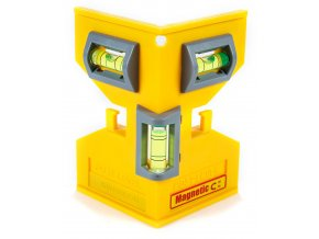 PL001M Speedlite Magnetic Post Level Out of Package Front Close Up