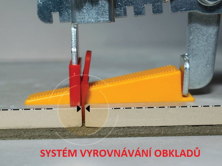 Systém vyrovnání obkladů a dlažeb Leveling