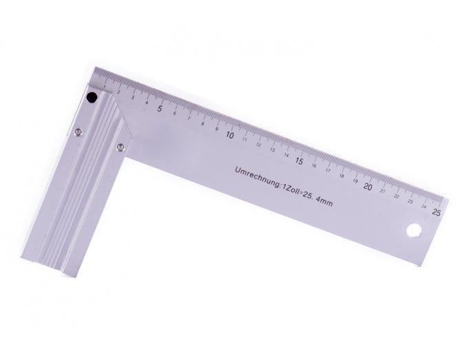 Úhelník hliník 25cm
