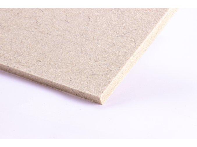 Povrch FILC 21x6x1cm bílý