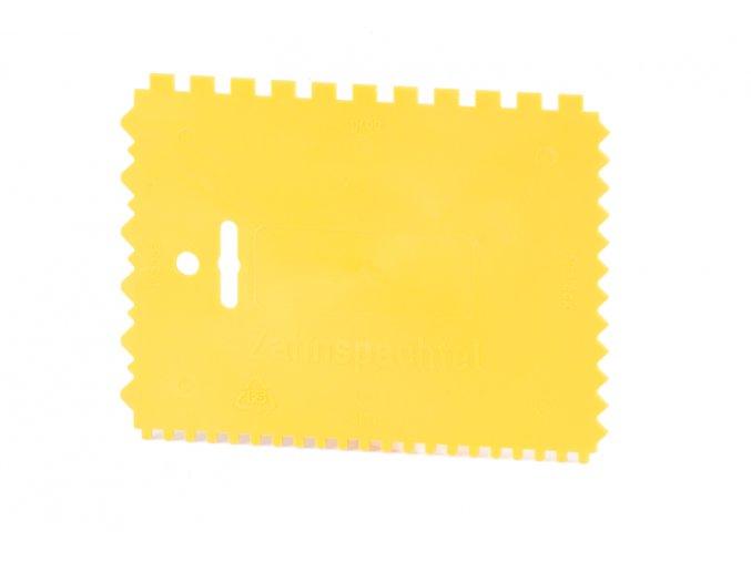 Stěrka 18cm plastová zub E4-E6