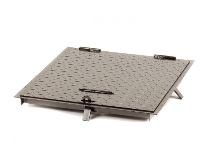 Poklop šachtový 50x50cm-černý