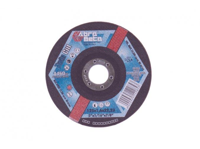 Kotouč Ř/R-dvojí řez 125x1,6