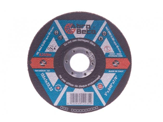 Kotouč Ř/R-NEREZ 125x1