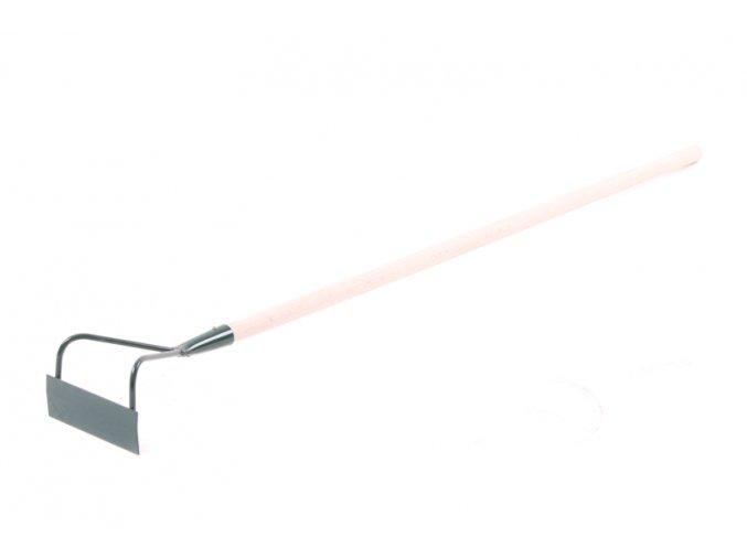 Plečka 140mm s násadou 100cm