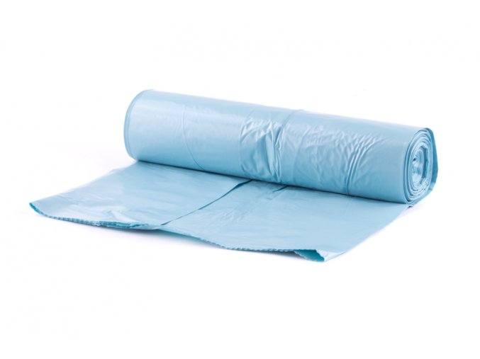 Pytel PE modrý 70x110cm/25ks-60my