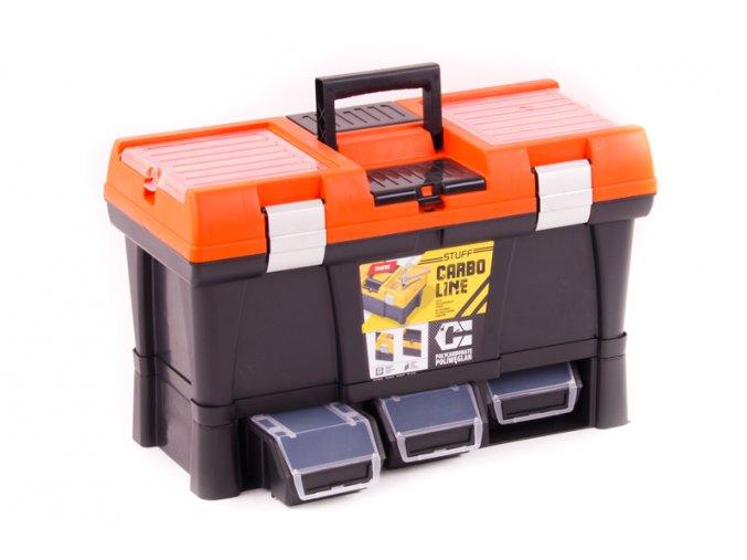 Skříňka PVC STUFF 53x26x33cm oranž