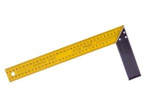 Úhelník ocel žlutý 35cm