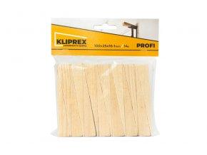Klínky dřevěné SM 14ks/100x25x16-1